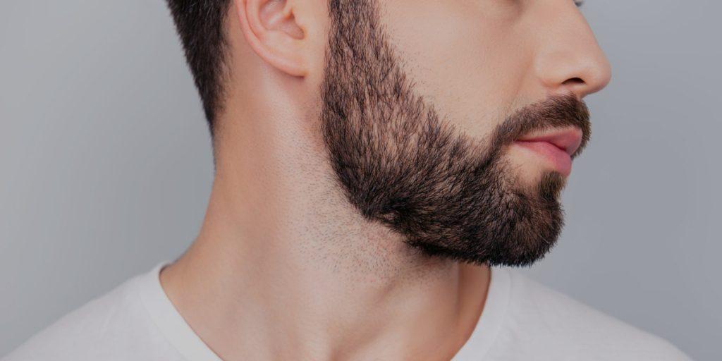 beard neck line