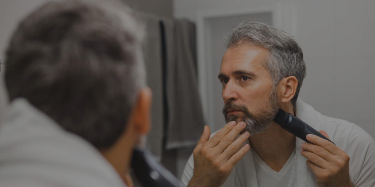 beard trimmer header